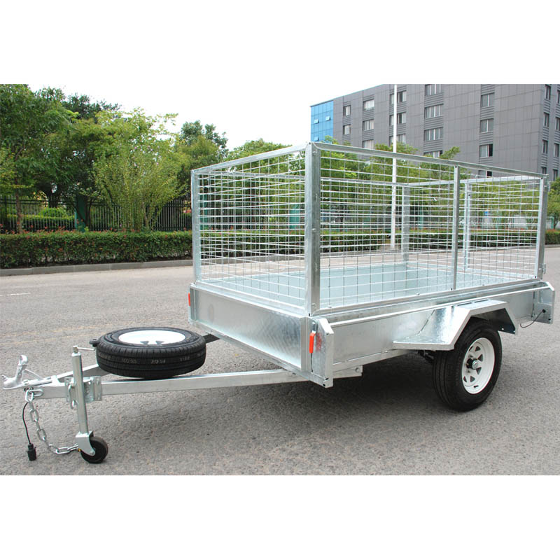 5x8 utility galvanised trailer