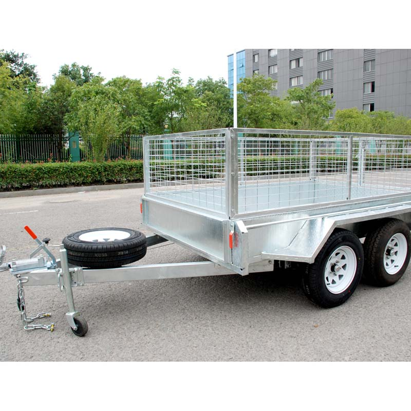cage trailer 8x5 tandem trailer
