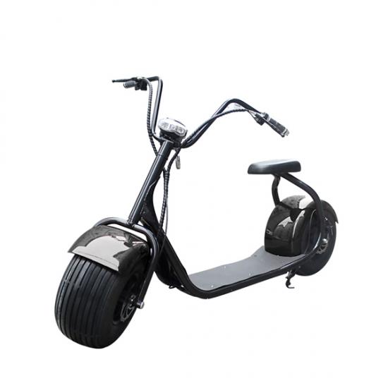 Staden Elektrisk Sparkcykel Big Wheel Med Sits