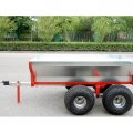 Heavy Duty Dump Trailer för ATV