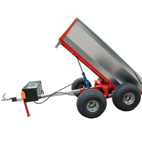 Tipping hydraulpump Trailer