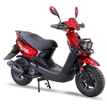Partihandel Chiese Scooter 150cc Moped röd